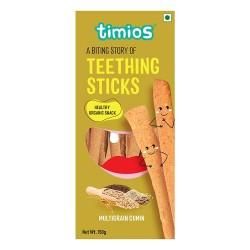 Organic Teething Sticks Multigrain Cumin Tasty and Healthy 150 gms