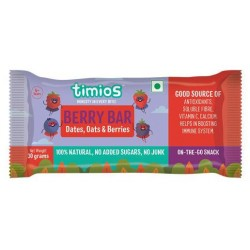 Berry Bar 30 gms (Dates, Oats and Berries)