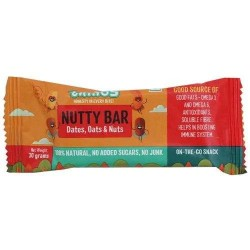 Nutty Bar 30 gms (Dates, Oats and Nuts)