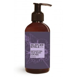 Detoxifying Face Wash for Men with Activated Charc