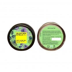 Organic Anti Acne Gel with Tea Tree and Neem Oil