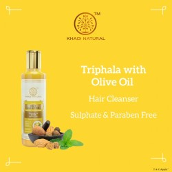 Ayurvedic Triphala with Olive Oil Cleanser, Shampo