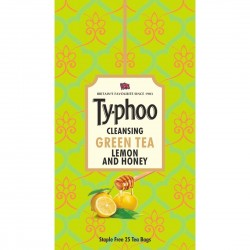 Cleansing Green Tea Lemon and Honey 25 Tea Bags