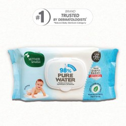 99% Pure Water Unscented Baby Wipes
