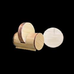 Bamboo Tea Coster